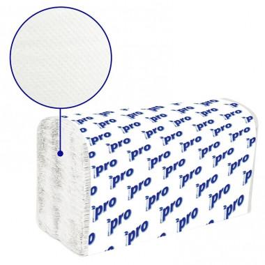 Фото Бумажные полотенца листовые PRO 1 слойные 250 шт Система H3, 20шт/упак
