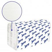 Бумажные полотенца листовые PRO V сложения 1 слойные 250 шт Система H3, 20шт/упак