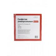 Салфетка из микроспана 38*38 см, 10г/м, красный, упаковка 10 штук