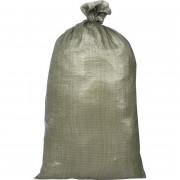 Мешок полипропиленовый второй сорт, зеленый 55x95 см (100 штук в упаковке)