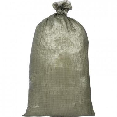 Фото Мешок полипропиленовый второй сорт, зеленый 55x95 см (100 штук в упаковке)