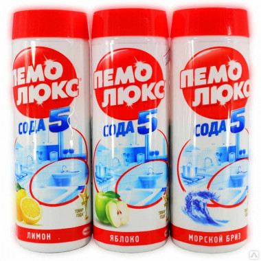 Фото Универсальное чистящее средство Пемолюкс, порошок 480 гр