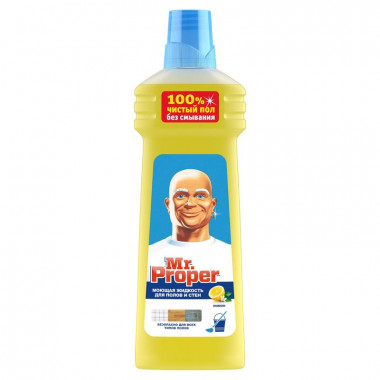 Фото Универсальное чистящее средство Mr. Proper Лимон жидкость 750 мл
