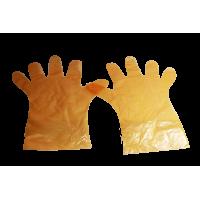 Перчатки полиэтиленовые удлинённые, упаковка 100 шт.