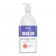 Дезинфицирующее средство на основе изопропилового спирта DESO C9 гель (флакон 1000 мл)