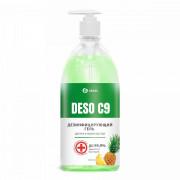 Дезинфицирующее средство на основе изопропилового спирта DESO C9 гель (ананас) (флакон 1000 мл)