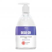 Дезинфицирующее средство на основе изопропилового спирта DESO C9 гель (флакон 500 мл)