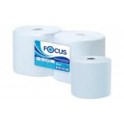 Протирочные полотенца в рулонах Focus 100% целлюлоза белый 2 слойные 350м