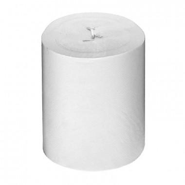 Фото Полотенца в рулоне с центральной вытяжкой 1 слойные, белые 120 м