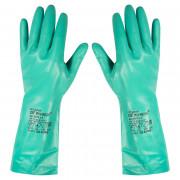 Перчатки латексные Изумруд КЩС, размер 11, без напыления