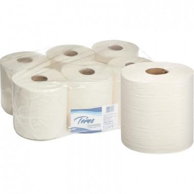 Фото Туалетная бумага Терес Mid-size в миди-рулонах, 2-слоя  100 м