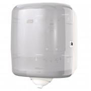 Диспенсер для рулонных полотенец с центральной вытяжкой Tork Reflex М4 пластиковый белый