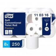 Бумага туалетная Tork Premium 110316 Т4 3-слойная белая
