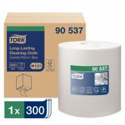 Нетканый протирочный материал Tork 90537 W1/W2/W3 белый, 114 метров в рулоне