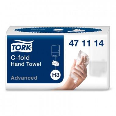 Фото Бумажные полотенца листовые TORK 2 слойные 120 шт Система H3, 20шт/упак