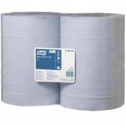 Протирочная бумага Tork 128408 W1 голубая, 2 рулона по 340 метров