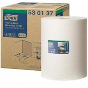 Нетканый протирочный материал Tork 530137 W1/W2/W3 белый, 106.4 метра в рулоне