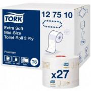 Tork туалетная бумага Mid-size в миди-рулонах ультрамягкая