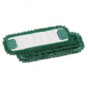 Моп TTS Microriccio, с держателями, микрофибра, 40 см, зеленый