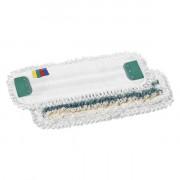 Моп TTS Tris, с держателями, микрофибра-полиэстер-хлопок, 40 см, белый