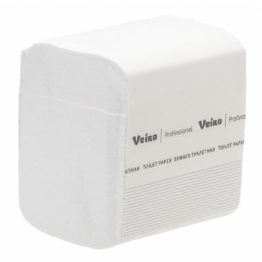 Фото Туалетная бумага Veiro Professional Comfort, V сложения 2 слойная, 250 л 1/30