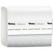 Салфетки бумажные Veiro Professional 2-слойные белые 220 листов 15 пачек в упаковке