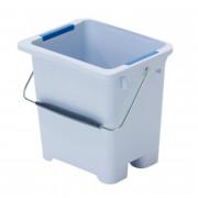 Ведро Vileda Professional УльтраСпид Про 10 л с цветовым кодированием пластик серо-голубой