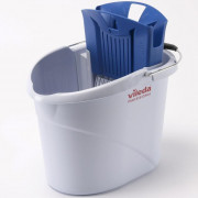 Ведро с отжимом Vileda Professional УльтраСпид Мини 10 л пластик синий