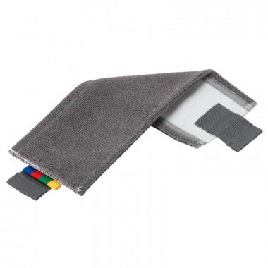 Фото Моп плоский Vileda Professional Сейф УльтраСпид Про микроволокно с абразивами/ПЭС 40 см серый