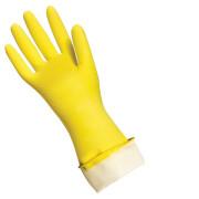 Перчатки хозяйственные особопрочные зеленые, р.L (1кор/240пар)
