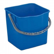 Ведро пластик 25л для уборочных тележек синее