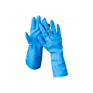 Фото Перчатки Proff Comfort голубые, размер M