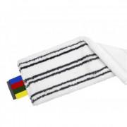 Моп плоский Vileda Professional МикроЛайт УльтраСпид Про микроволокно с абразивами/ПЭС 40x14 см белый