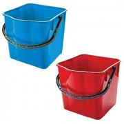 Ведро пластик 25л для уборочных тележек УТП синее