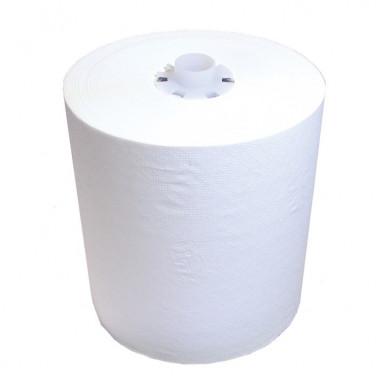 Фото Бумажные полотенца в рулонах Lime 1 слойные белый 140м , 6 шт/упак