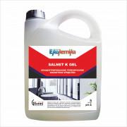 SALNET K GEL Гелеобразное кислотное концентрированное средство 5л 1/4