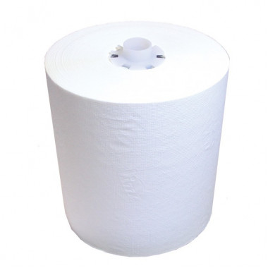 Фото Бумажные полотенца в рулонах Lime 1 слойные белый 200м , 6 шт/упак