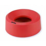 Ирис крышка для контейнера воронкообразная круглая красный