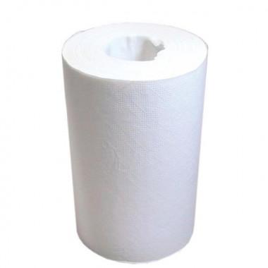 Фото Бумажные полотенца в рулонах Lime 2 слойные белый 70м , 12 шт/упак