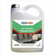 ALL PURPOSE LUX Гелеобразный щелочной высокопенный очиститель 5л 1/4