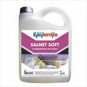 SALNET SOFT Концентрированный кондиционер для белья 5 л