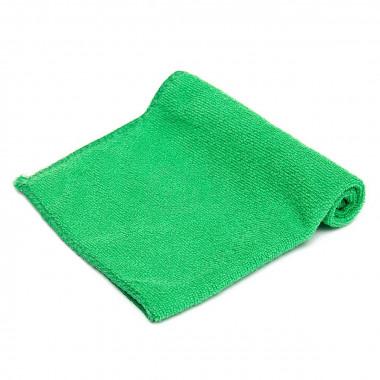 Фото Салфетка из микрофибры 30*30см, 220г (зеленый) 1/300