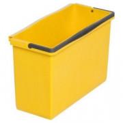 Ведро VERMOP 12л желтое, подвесное