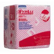 Протирочный материал в пачках WypAll X80 Plus красный, 8 пачек по 30 листов