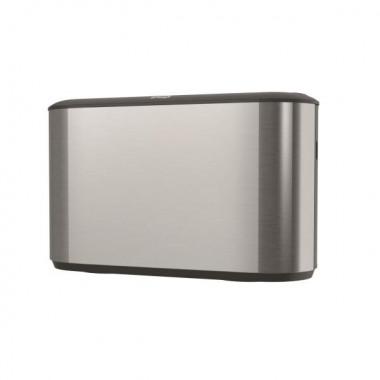 Фото Диспенсер для листовых полотенец Tork Xpress настольный металл/пластик серебристый/черный