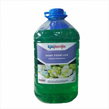 Фото SOAP FOAM Lux Жидкое крем-мыло ЯБЛОКО 5л 1/4 ПЭТ