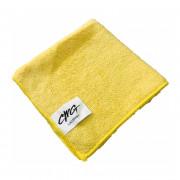Салфетка из микрофибры 30*30см 220г (желтый) 1/500