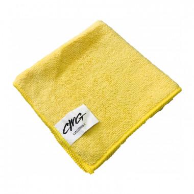 Фото Салфетка из микрофибры 30*30см 220г (желтый) 1/500