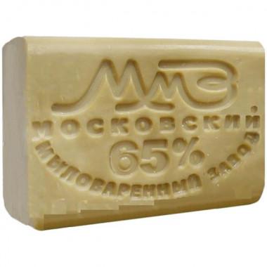 Фото Мыло хозяйственное 65% без обертки, 200 гр, Москва