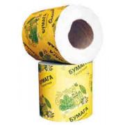 Туалетная бумага Осенняя, с втулкой, в коробке 50 рулонов